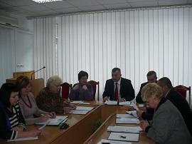 Засідання президії комітету облорганізації Профспілки