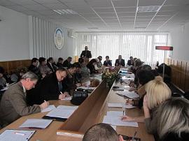 19 лютого відбулося розширене засідання президії обкому Профспілки