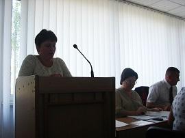 Засідання президії обкому Профспілки