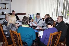 Засідання  президії комітету Вінницької облорганізації Профспілки