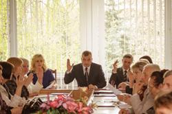 Засідання президії комітету Вінницької обласної організації Профспілки працівників освіти та науки та урочисте зібрання присвячене 1-му Травня дню міжнародної солідарності  трудящих.