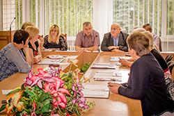 Засідання президії комітету Профспілки працівників освіти і науки