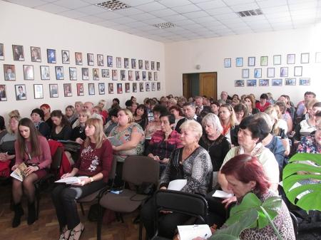 Нарада – семінар голів профспілкових комітетів навчальних закладів м. Вінниці
