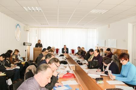 Розширене засідання президії комітету Профспілки освітян