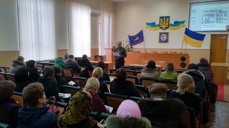 Засідання ради профспілки і нараду голів первинних профспілкових організацій Шаргородського району.