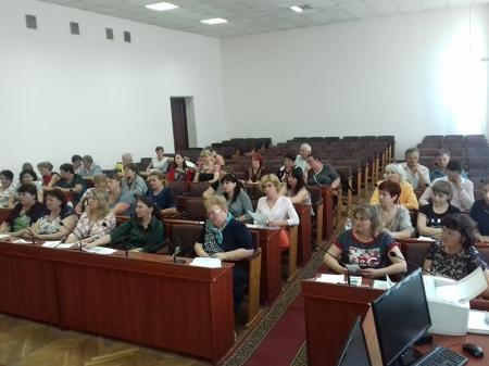 Засідання Ради Вінницької районної організації Профспілки працівників освіти і науки.