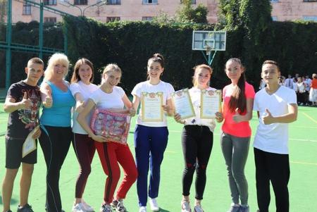 Міжнародний день студентського спорту в Вінницькому державному педагогічному університеті.