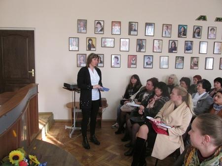 Нарада – семінар голів профспілкових комітетів навчальних закладів м. Вінниці.