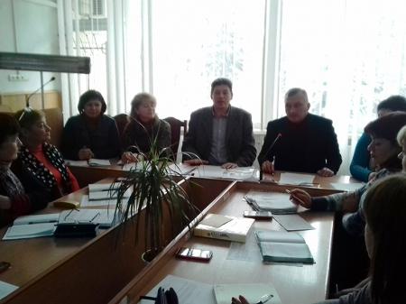 Засідання Ради Вінницької районної організації профспілки працівників освіти і науки