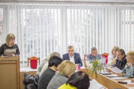 Розширене засідання президії та нарада обкому профспілки освітян