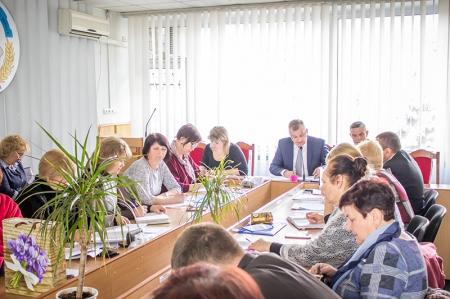 Пленум і розширене засідання президії обкому профспілки освітян