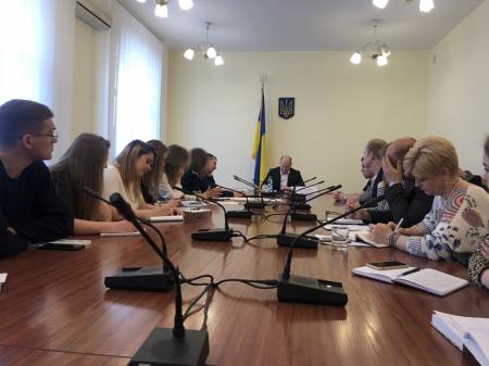 Робоча зустріч представників студентських профспілок України з народним депутатом - Сергієм Капліном.
