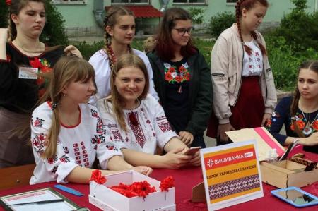 «Вишиванка-фест» у Вінницькому гуманітарно-педагогічному коледжі