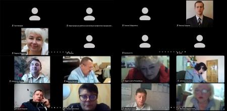 Вереснева он-лайн нарада та розширене засідання президії голів районних, міських, вузівських профорганізацій.