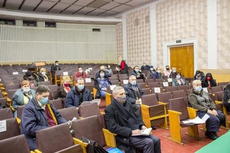 Нарада голів членських профорганізацій та розширене засідання президії.