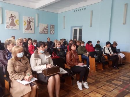 Засідання ради профспілки Літинської районної організації профспілки працівників освіти