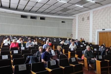 Офлайн нарада та розширене засідання президії комітету облорганізації Профспілки
