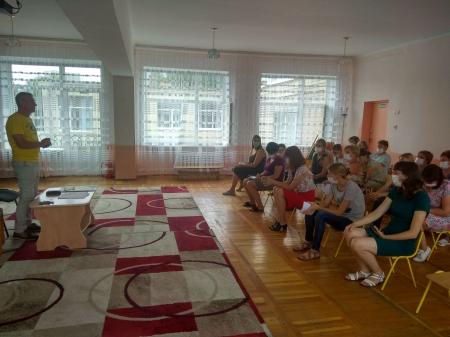 Зустріч колективу закладу дошкільної освіти №24 з головою Віннницької міської організації Профспілки працівників освіти і науки
